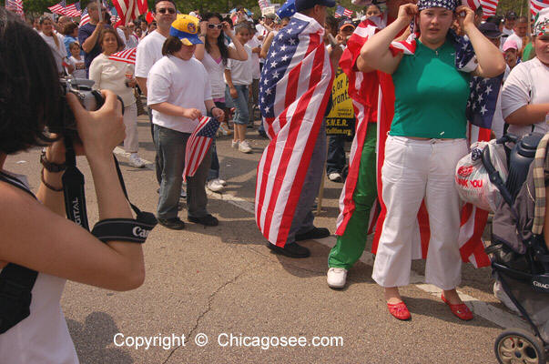 Immigration Reform March, Chicago, May 1, 2007
